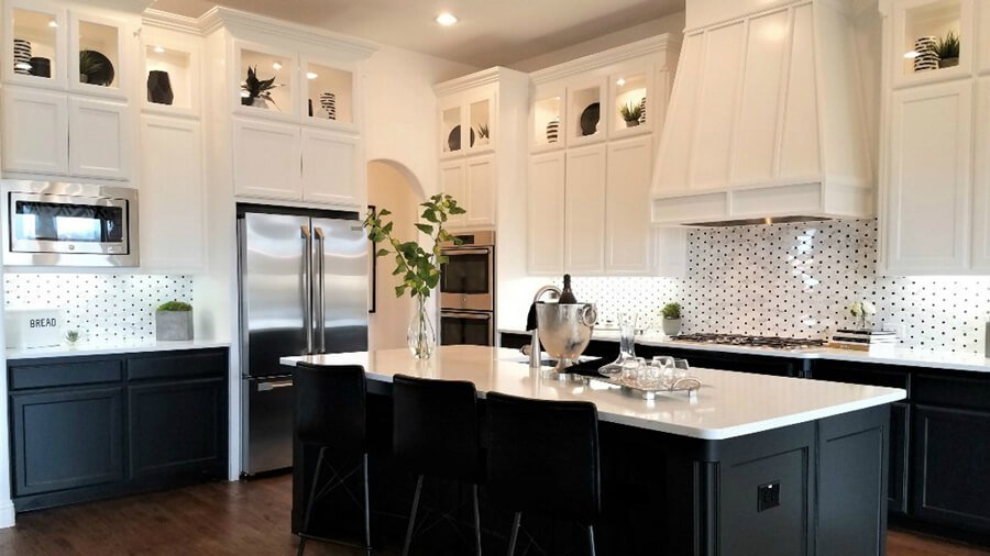 Diagonal with Accents | Easy Inspiration for Kitchen Backsplash Designs