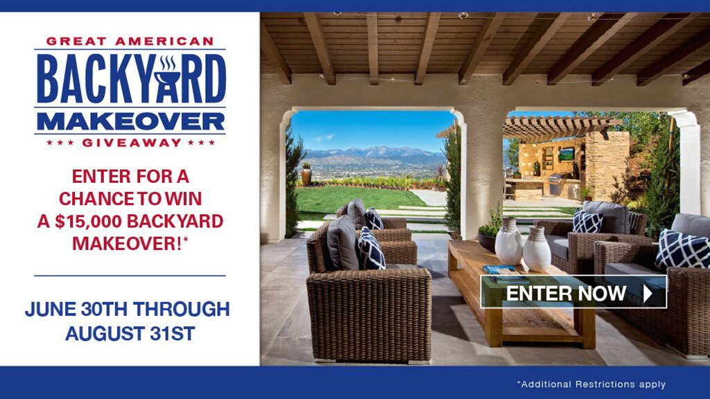Enter the Great American Backyard Giveaway - Second House on the Right - It's Back! Enter The Great American Backyard Giveaway - Second House