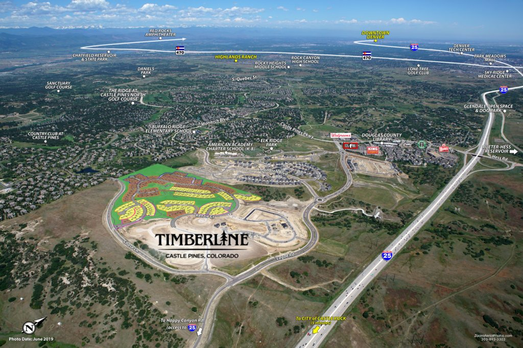 See what's nearby Timberline City Collection in Castle Pines